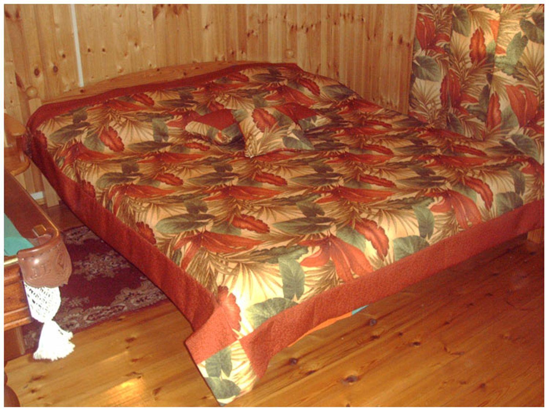 Покрывало на угловую кровать