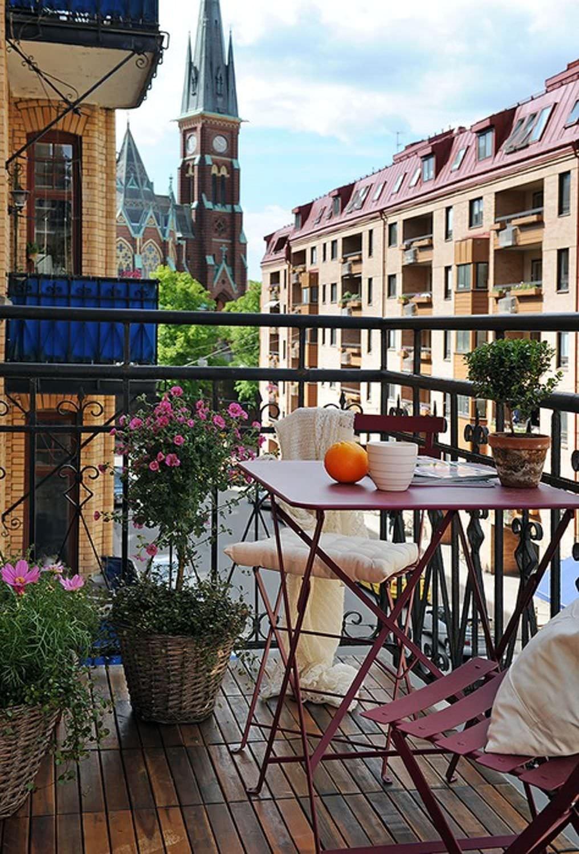 Балконы летние открытые.