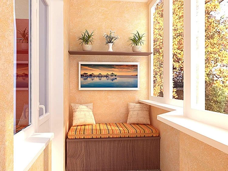 Мебель для балкона и лоджии: технология и монтаж своими рука.