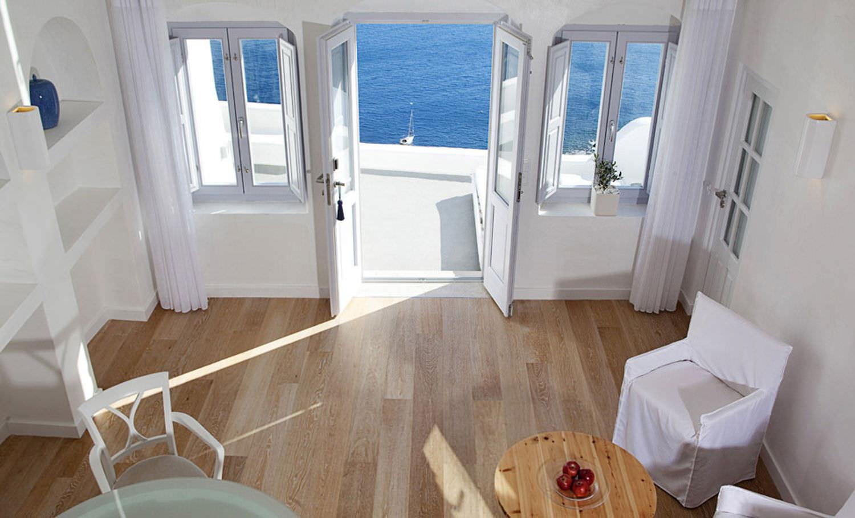 "Идеи дизайна: бутик-отель kirini oia santorini в греции "" аз."