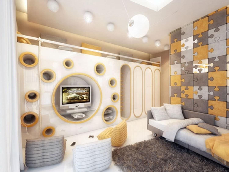 Дизайн стен интерьера