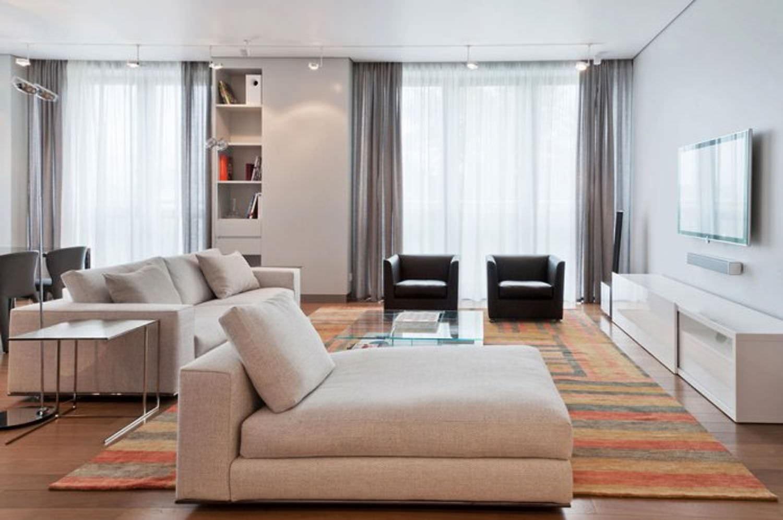 Дизайн квартиры студии 25 квм с двумя окнами