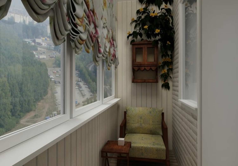 Шторы на балкон - как выбрать занавески, тюль, короткие.