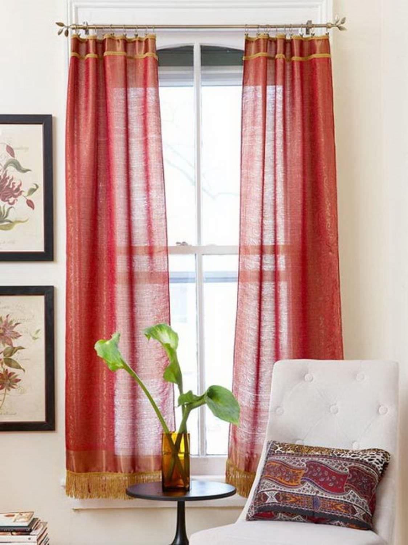 Как удлинить шторы своими руками