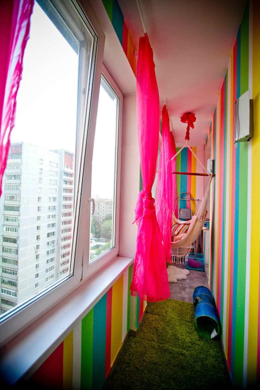 """Идеи дизайна интерьера """" идеи оформления лоджий и балконов (."""