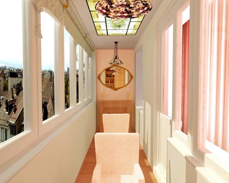 Дизайн балкона - несколько идей и правил интерьера интерьерн.
