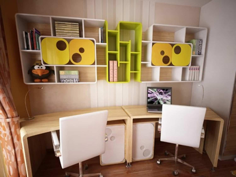 Полки над столом. идеи и фото.