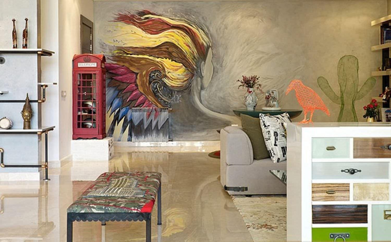 Росписи на стенах в квартире