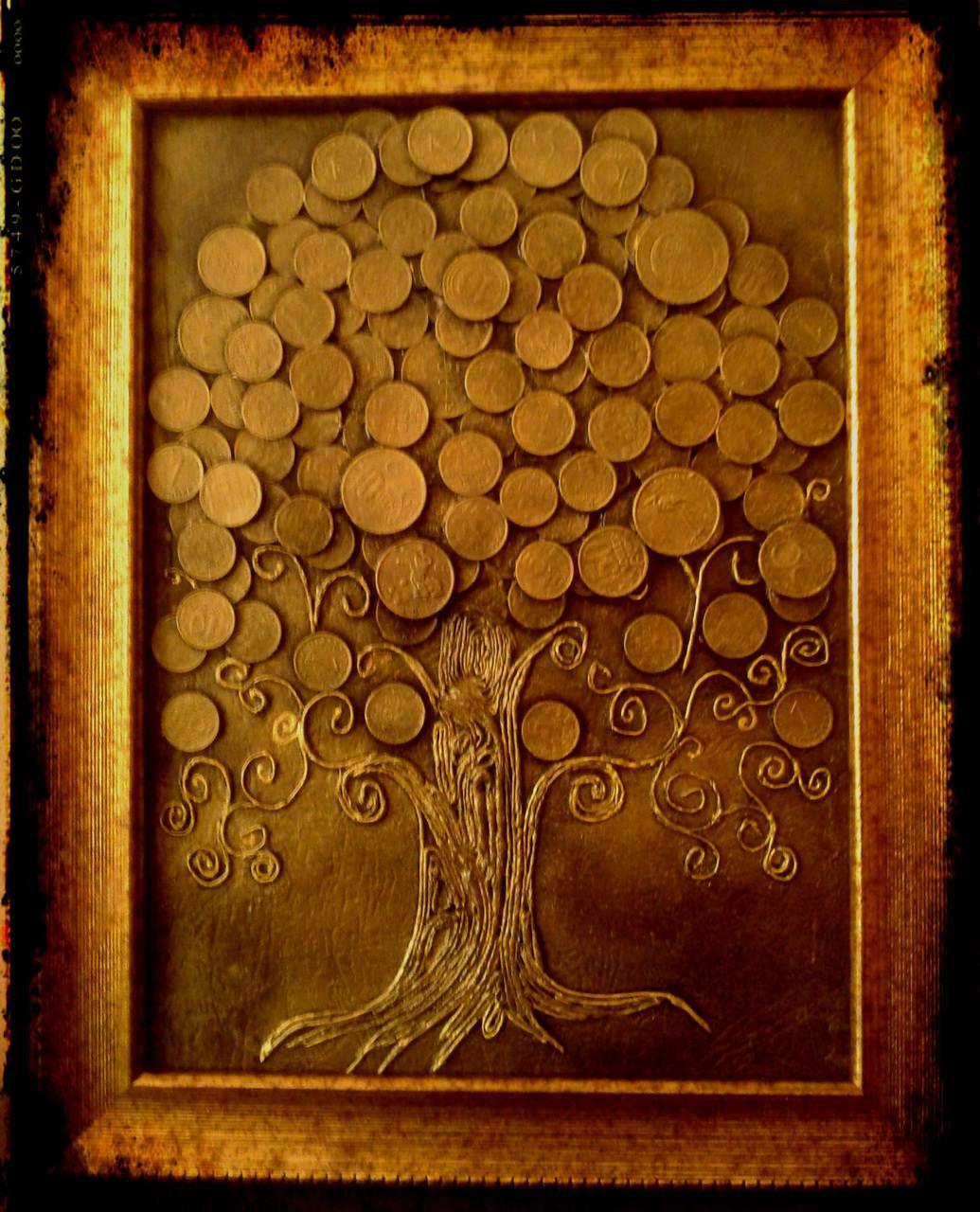 Денежное дерево своими руками с монетами