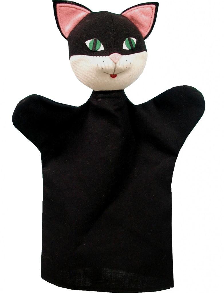 Игрушка кошка на руку выкройка