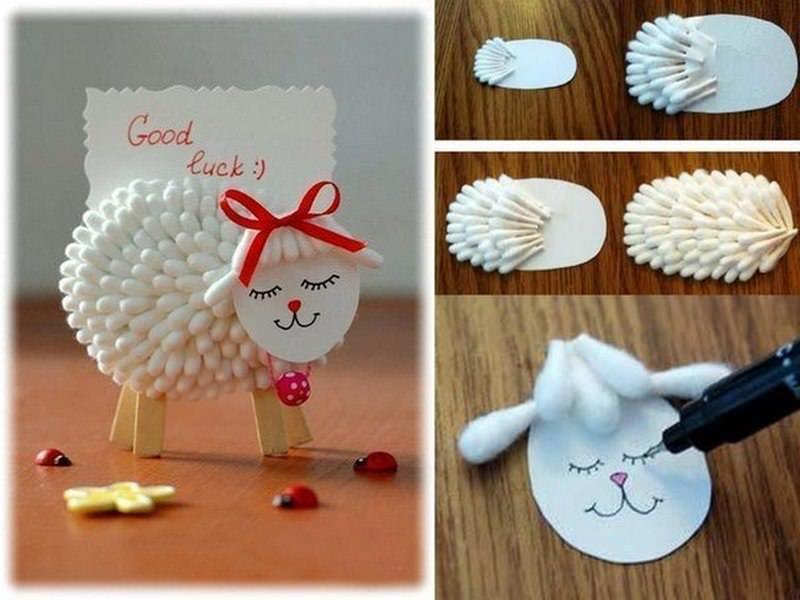 Как сделать овечек своими руками к новому году