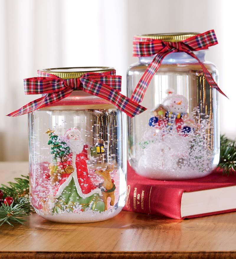 Как сделать новогодние стеклянные шары своими руками