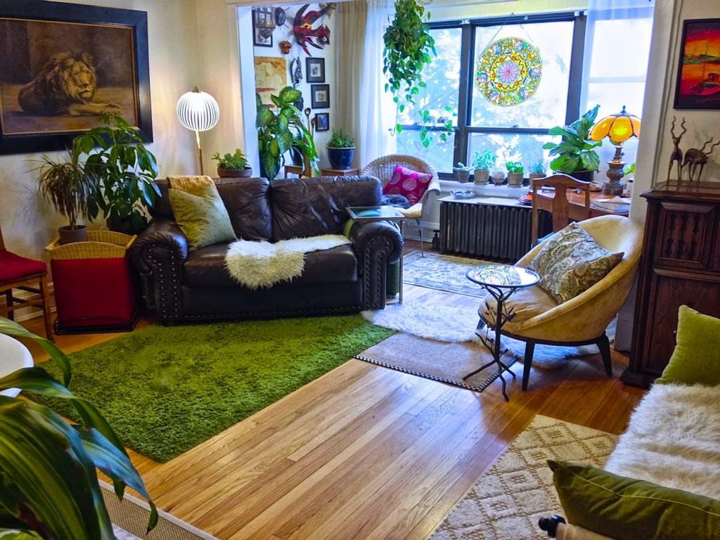 Cozy boho apartment: america, apartment, autumn, big, bohemian ...