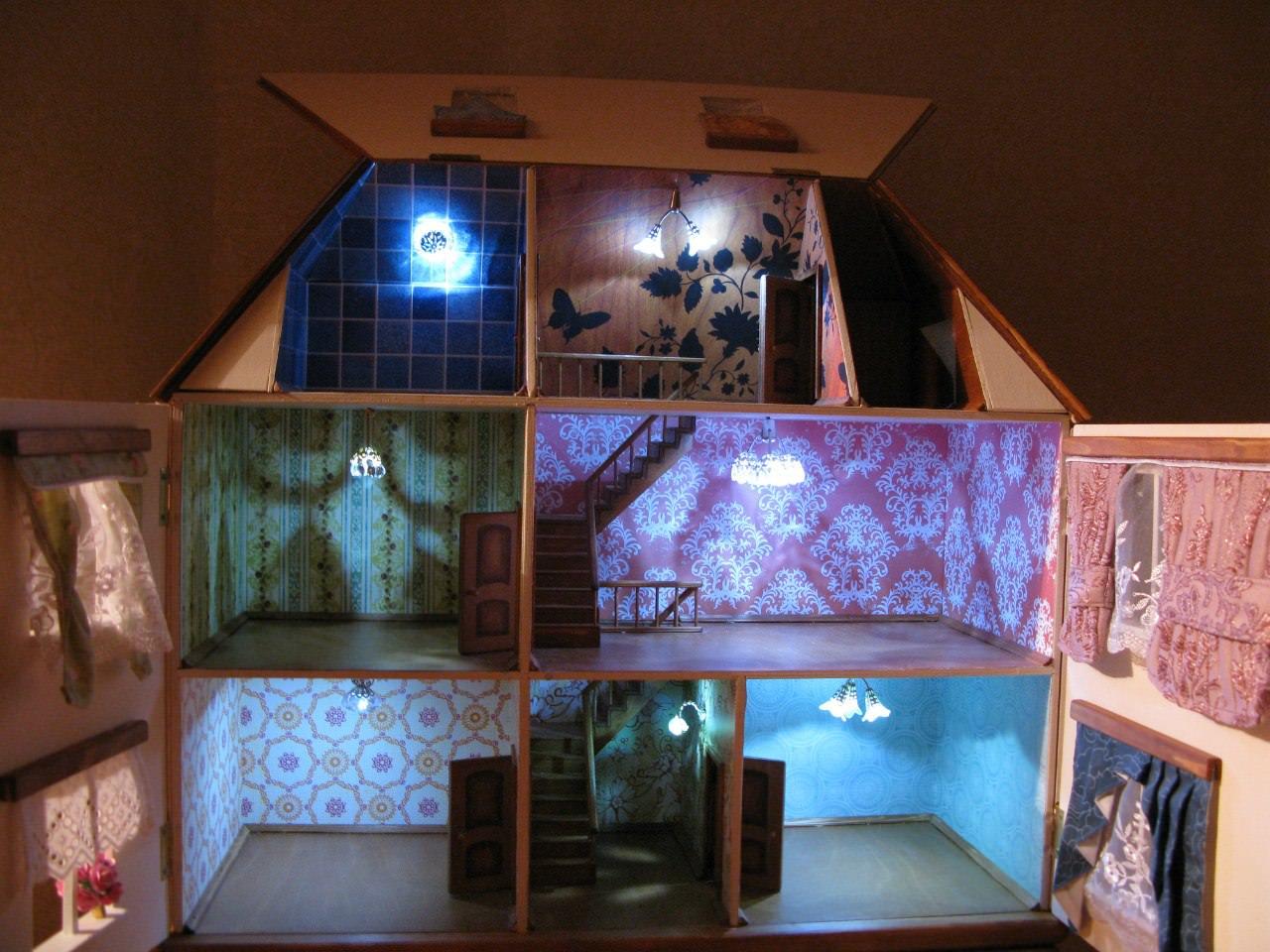 Кукольный домик своими руками - 66 фото создания 92